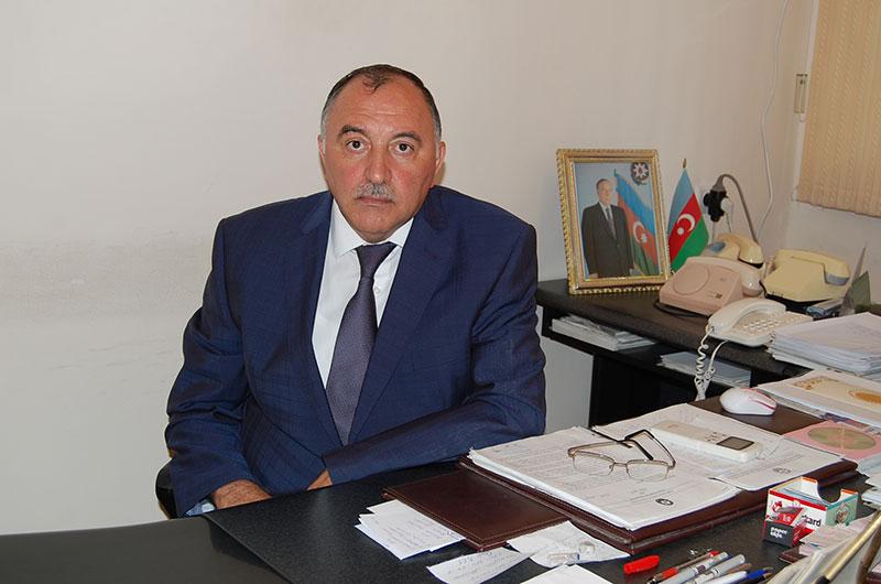 SDU-nun Tarix və coğrafiya fakültəsinin dekanı, professor Adil Baxşəliyev p ...